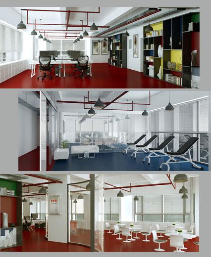 昆明奎門廣告為中城建云南分公司提供辦公環境空間設計服務